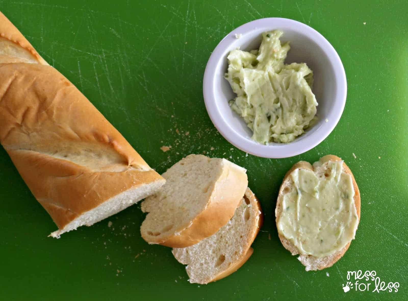 Easy recipe for pesto butter
