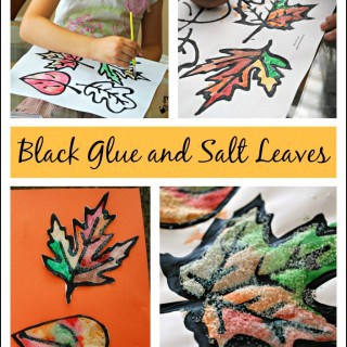 Black Glue and Salt Leaves