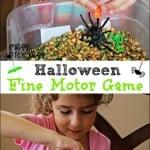 Fine Motor Skills Halloween Game