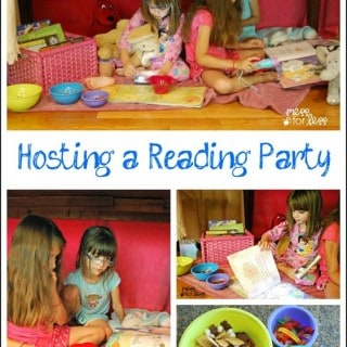 Hosting a Reading Party