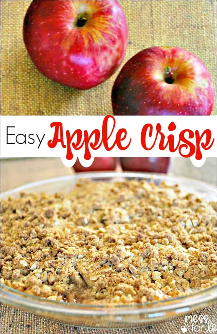 Easy Apple Crisp - This simple recipe will wow your family and taste ...