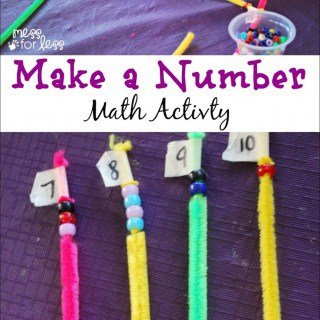 Make a Number Math Game