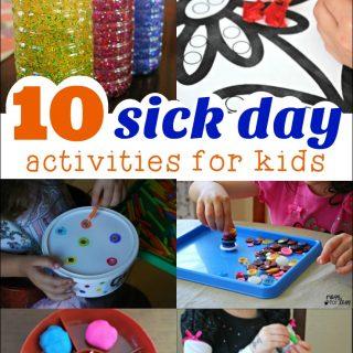 10 Sick Day Activities