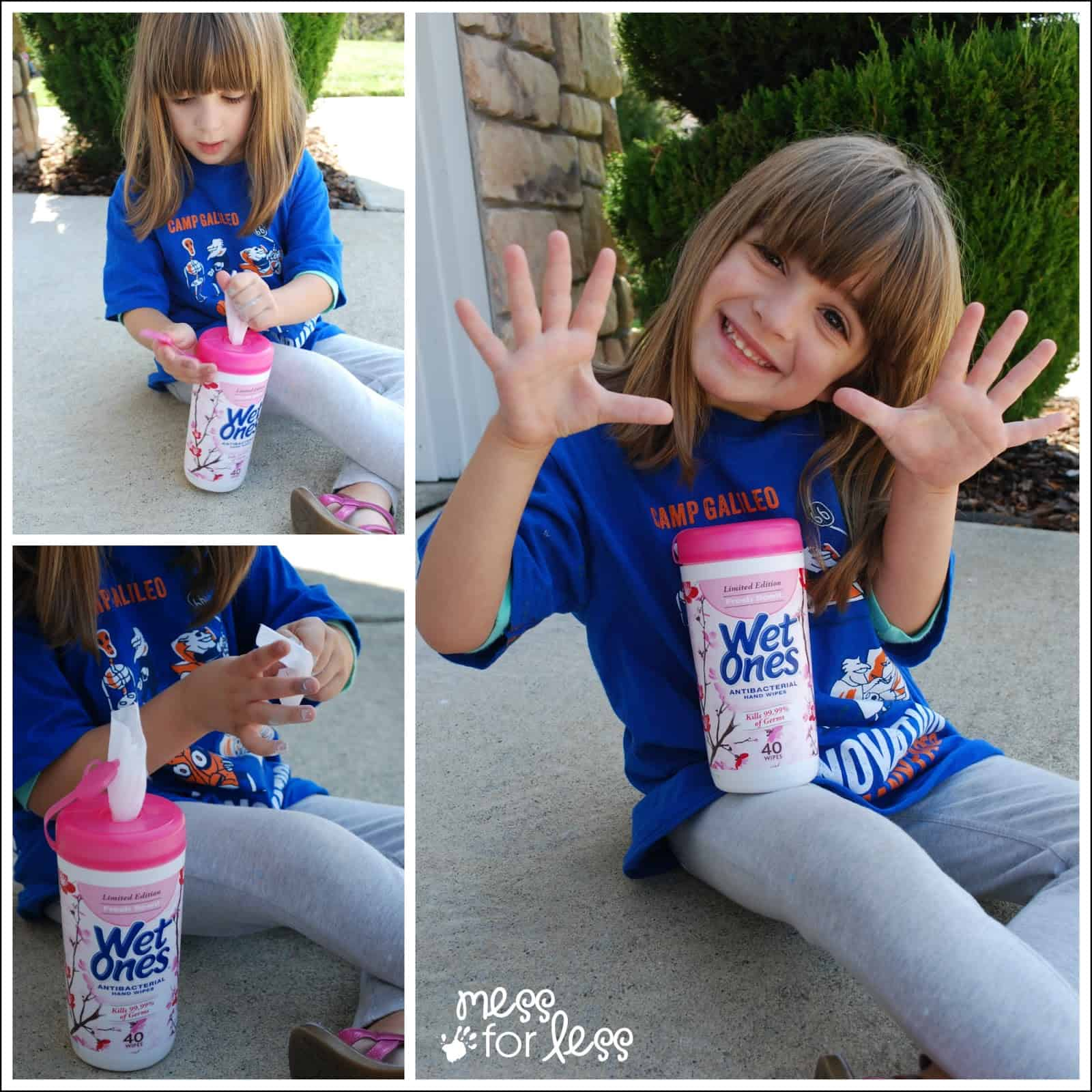 Cleaning up with Wet Ones #sponsored #wetones