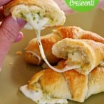 Crescent Roll Recipes: Cheesy Pesto Crescents
