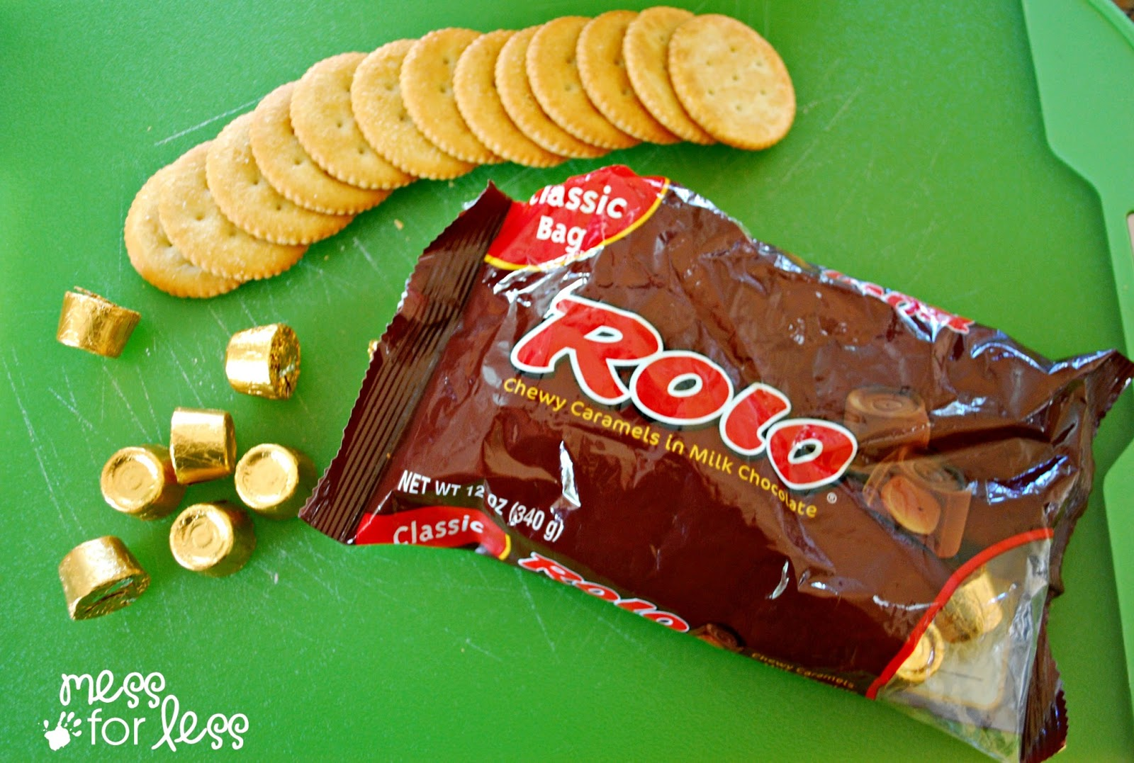 ritz crackers and rolos