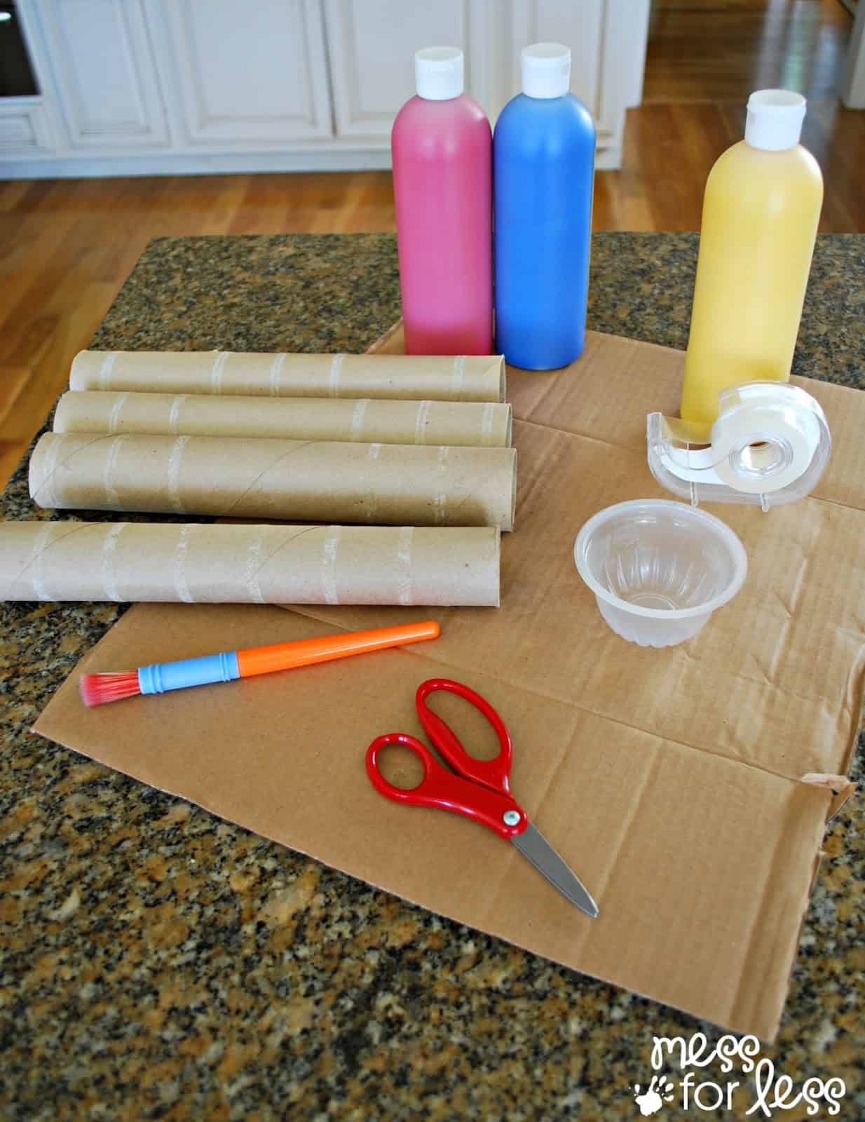 supplies for recycled art