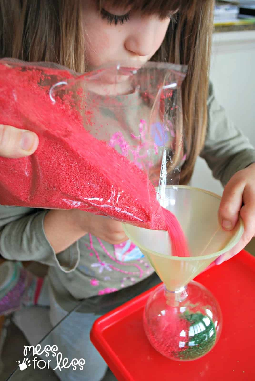 making homemade christmas ornaments