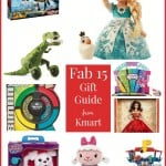 Kmart Fab 15 Gift Guide plus Free Printable Thank You Notes