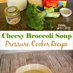 Cheesy Broccoli Soup Pressure Cooker Recipe with Produce from Farm Fresh to You