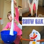 Snow Gak Sensory Play