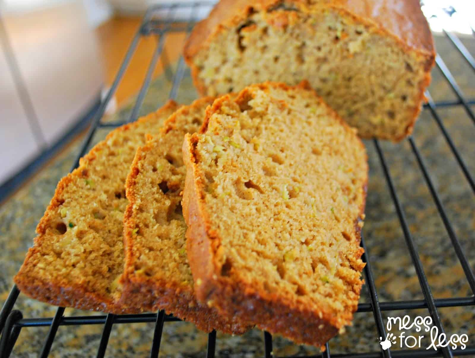 simple zucchini bread recipe