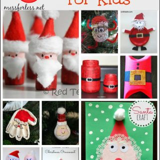 50 Santa Crafts for Kids plus Our Favorite Santa Books