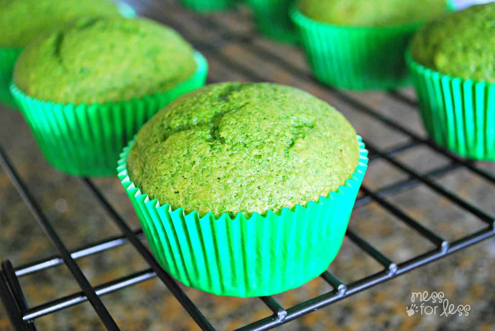 Simple spinach muffin recipe