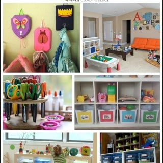 Kids Playroom Organization Tips