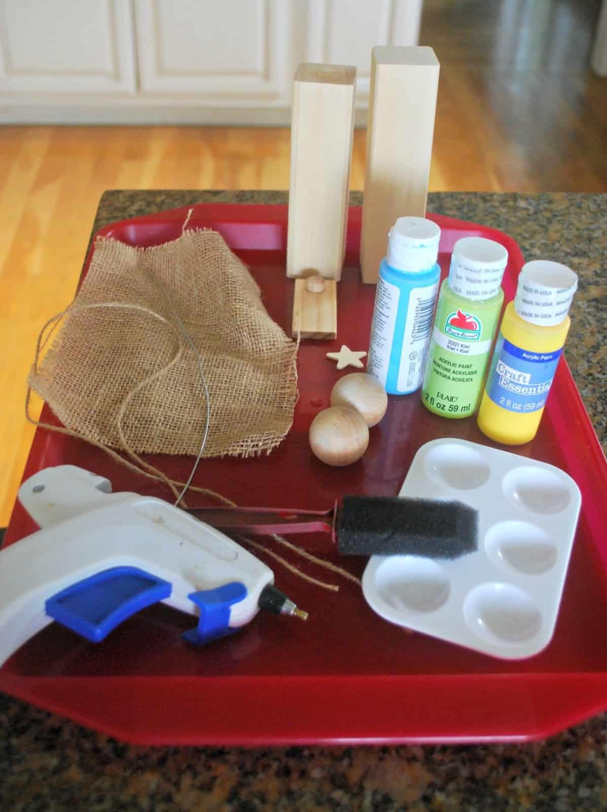 nativity craft supplies