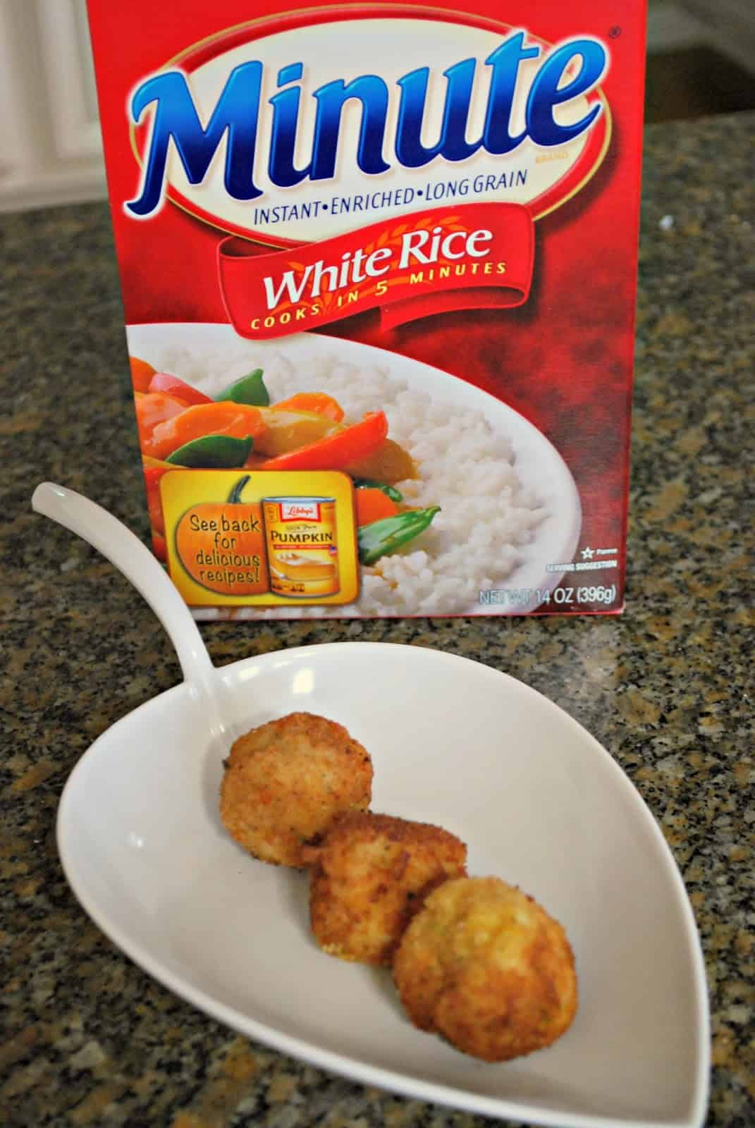 Minute Rice Balls #sponsored #MinuteHoliday