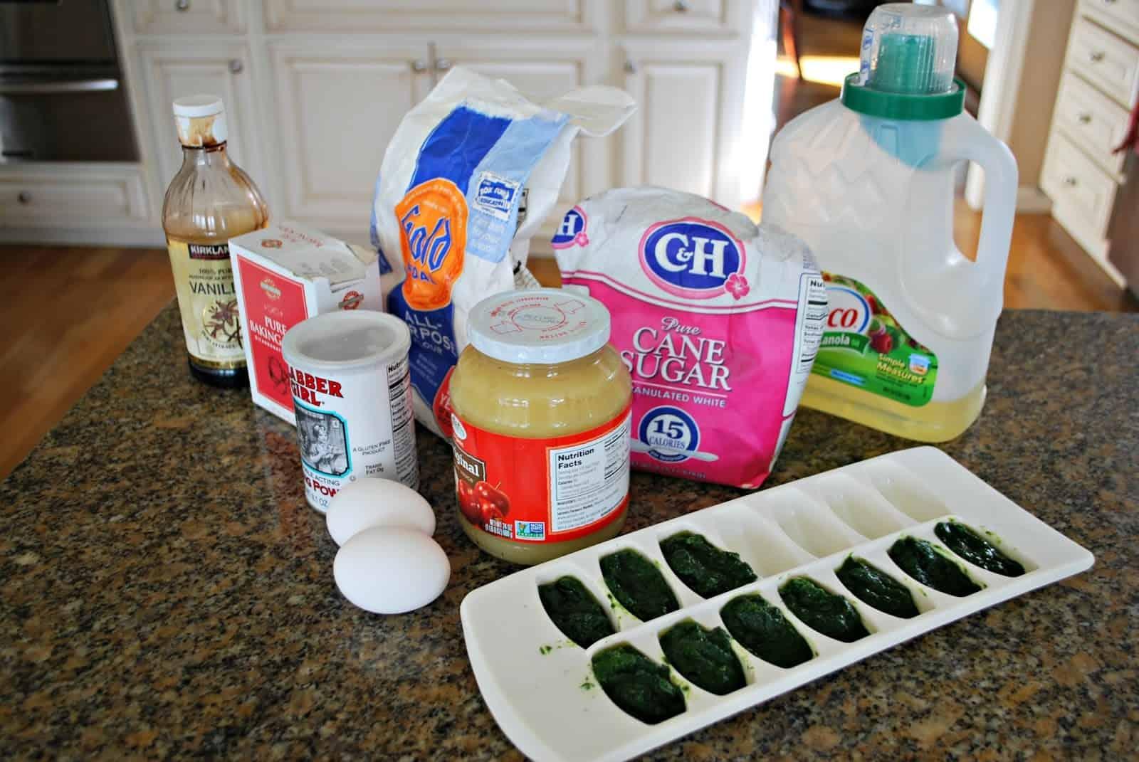 spinach muffin recipe