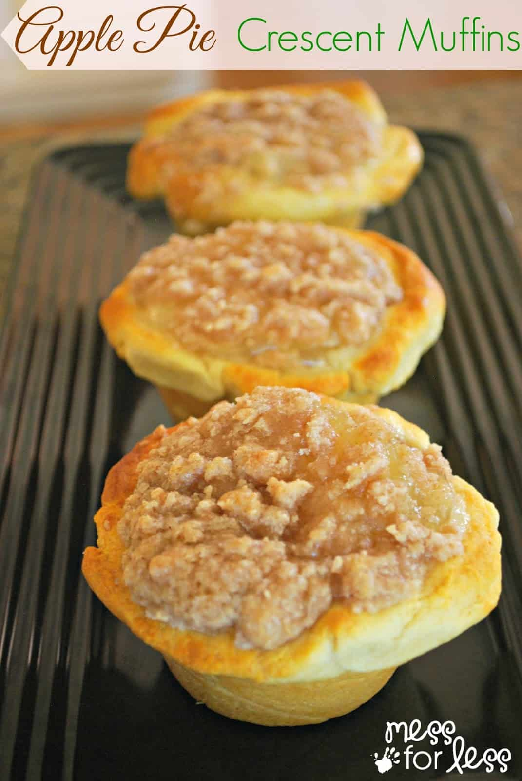 Apple Pie Muffins Lemon Bar Crescent Recipe