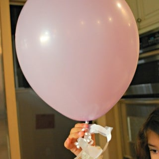Make a Balloon Zip Line