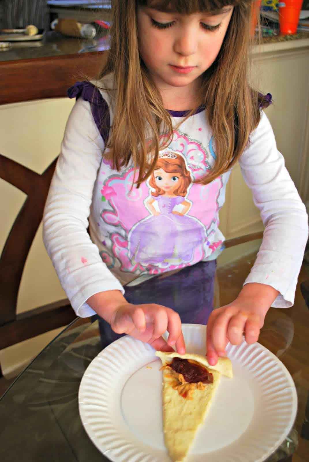 kids making crescent rolls recipes