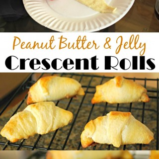 Crescent Roll Recipes: Peanut Butter and Jelly Crescents