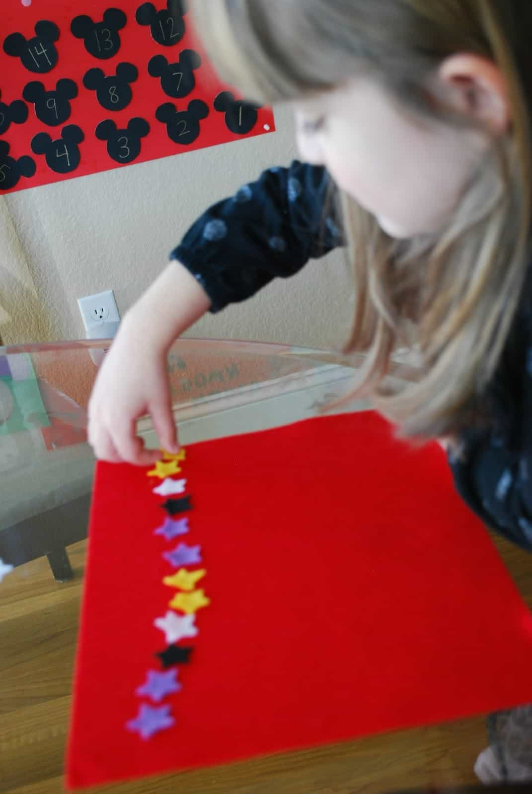 making patterns with kids