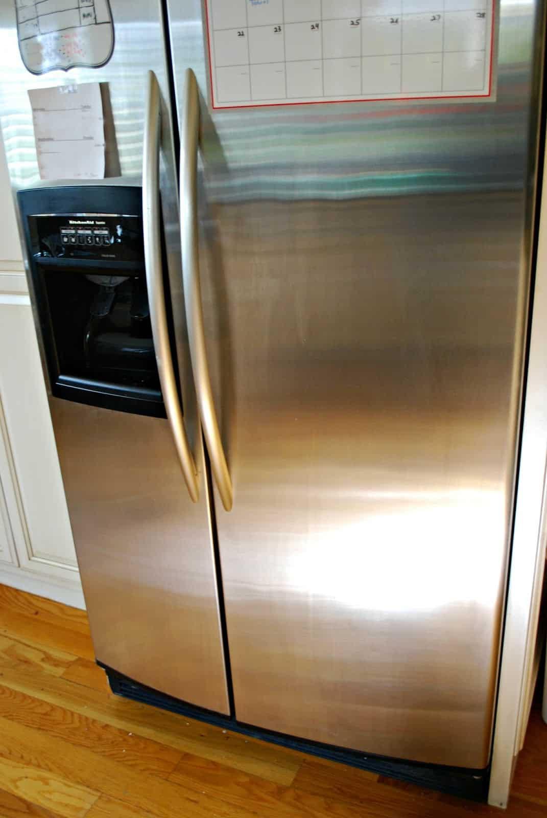 clean refrigerator #ad