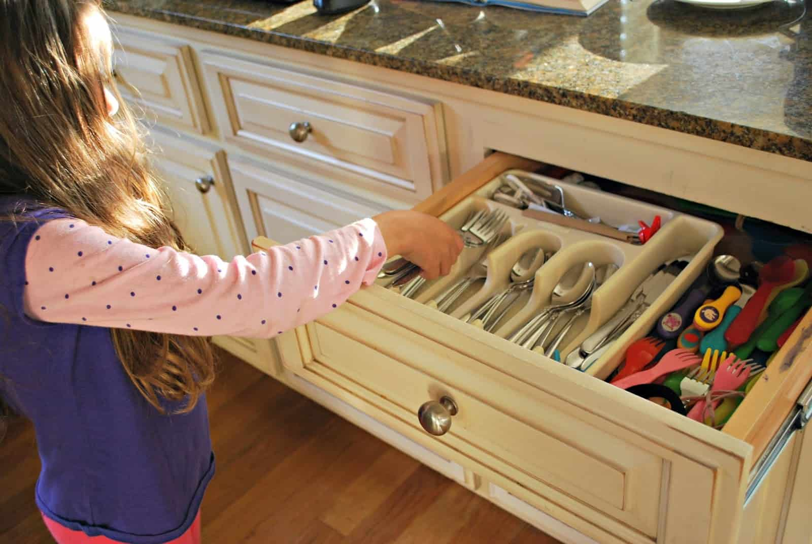 Kitchen Chores For Kids Mess For Less