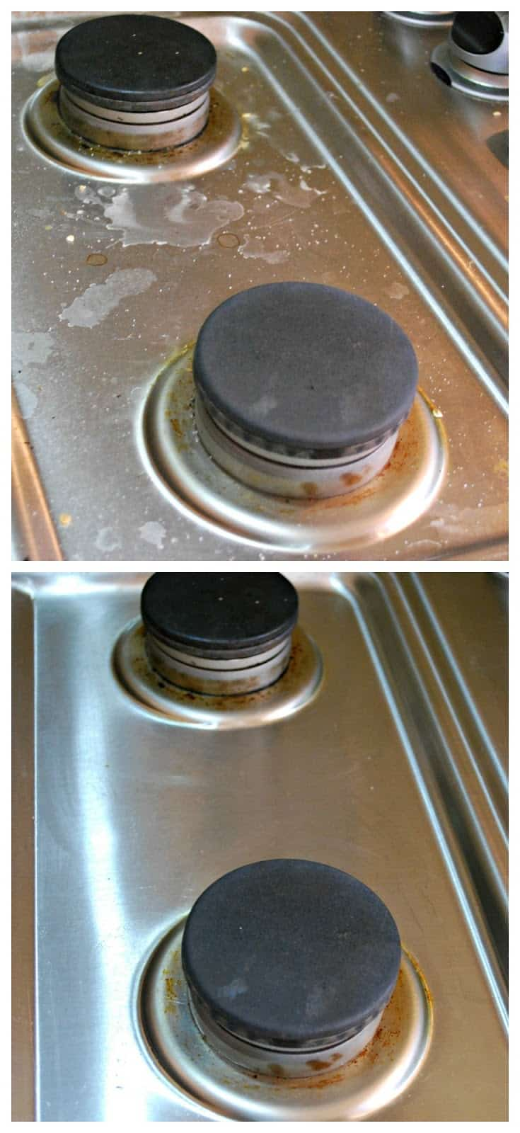 dirty and clean stove #ad