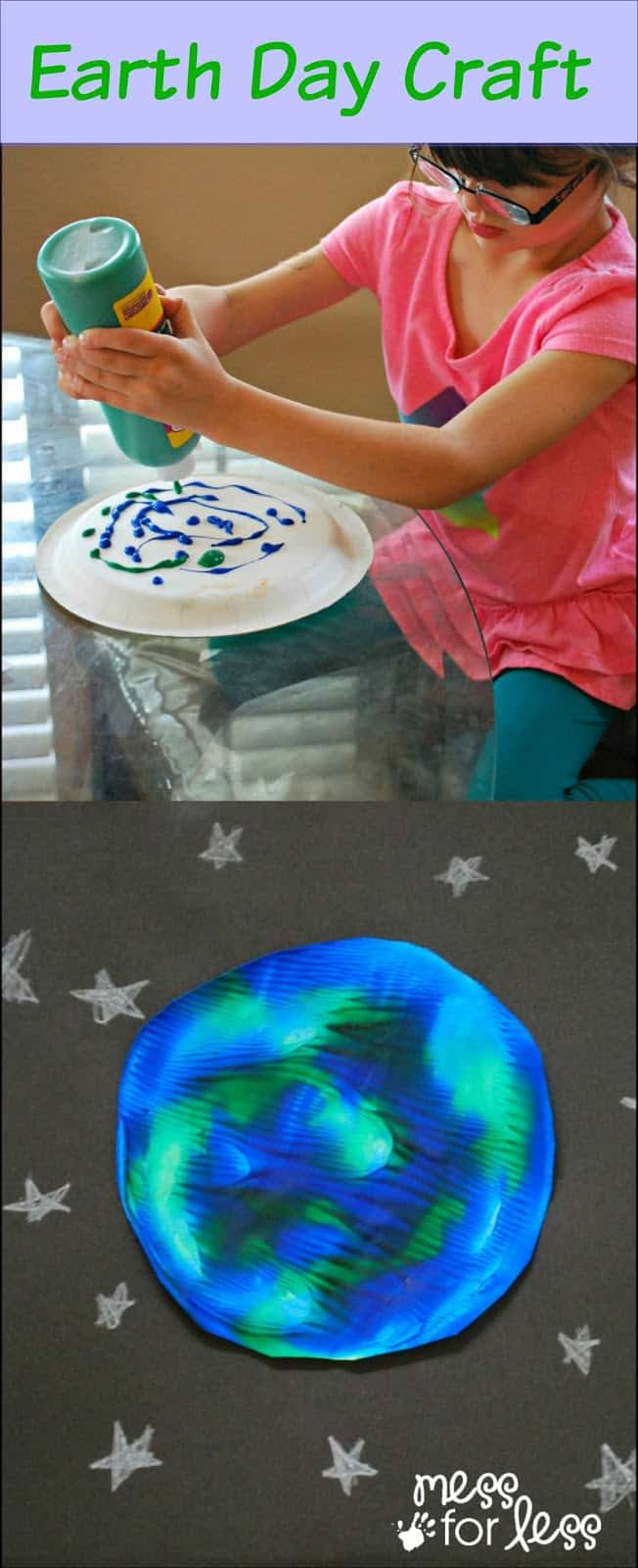 Earth Day Activity Mess For Less