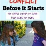 Stop Sibling Conflict Before it Starts