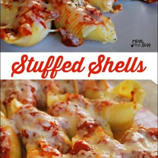 Stuffed Shells Recipe - Food Fun Friday