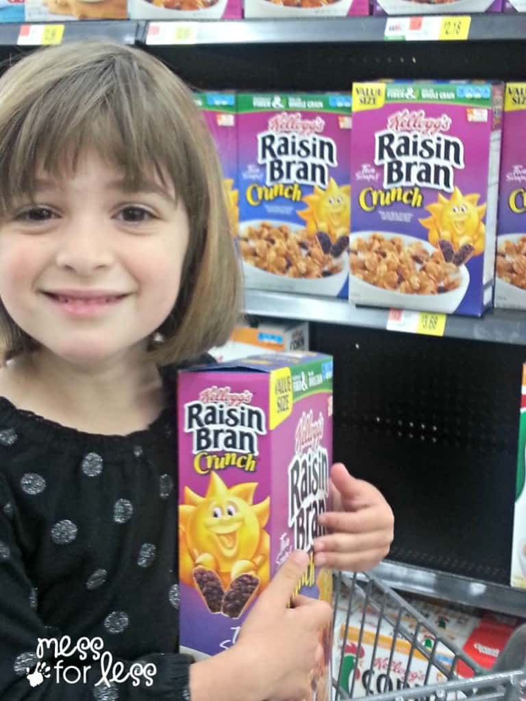 Child helping to fight hunger #ad #WeSparkChange and #Shop2Give