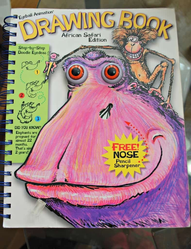 eyeball animation drawing book