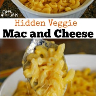 Hidden Veggie Baked Mac and Cheese – Food Fun Friday
