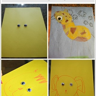 Invitation to Create with Googly Eyes