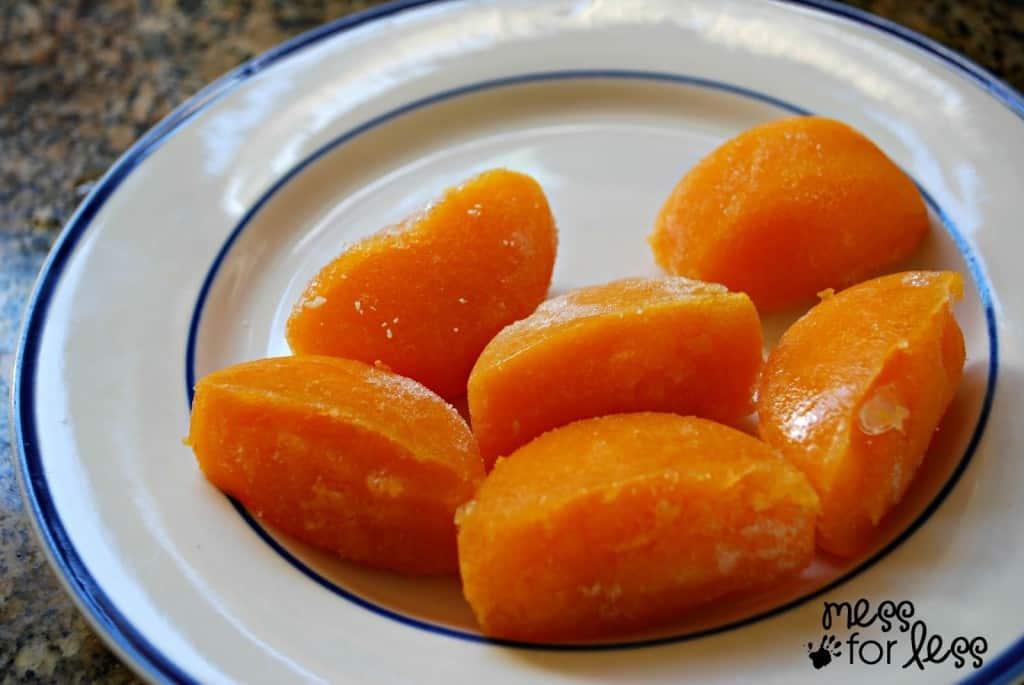 pureed carrots