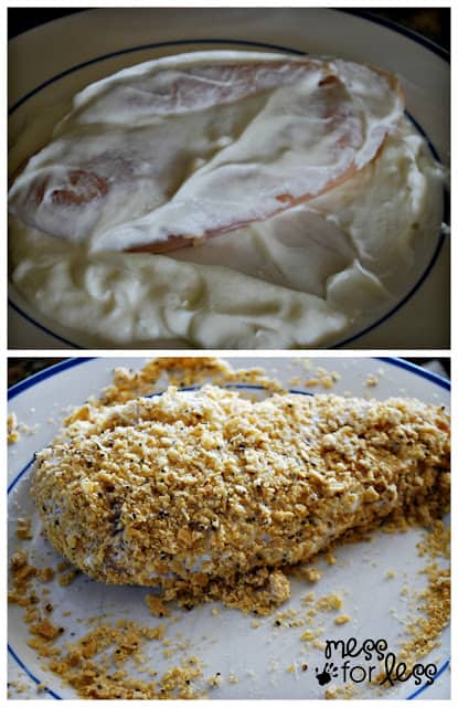 tortilla encrusted chicken