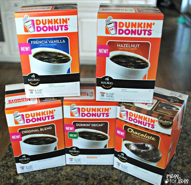 Dunkin' Donuts K-Cups are here! #sponsored #DunkinKcupLove