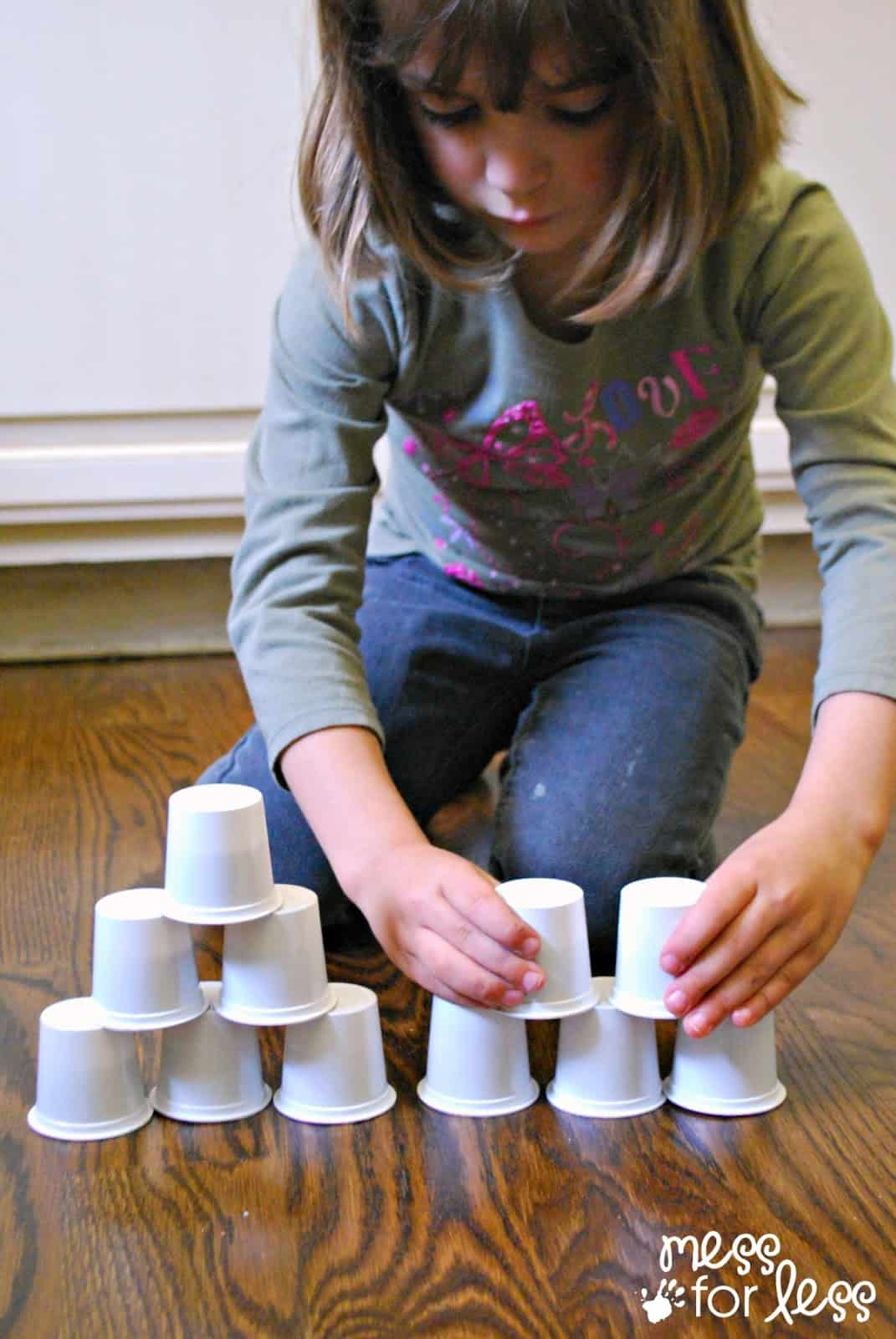 Explore Stacking with a Preschool Engineering Challenge