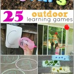 25 Outdoor Learning Games