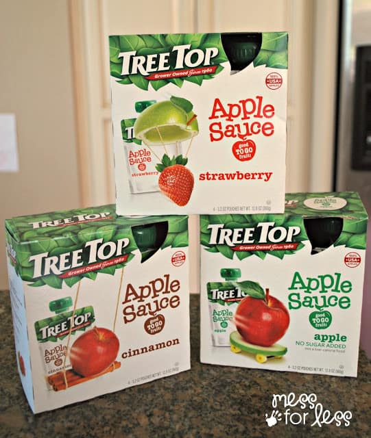 Tree Top Apple Sauce #RaisingGoodApples AD