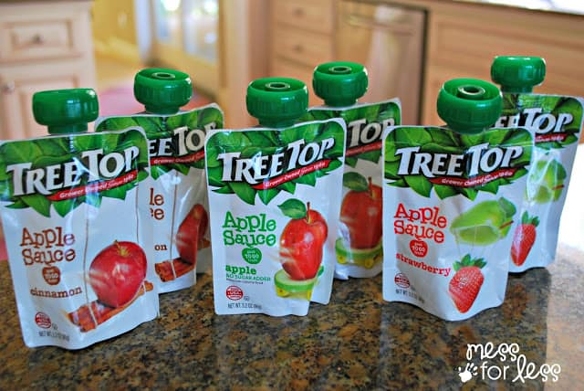 Tree Top Apple Sauce Pouches #RaisingGoodApples AD