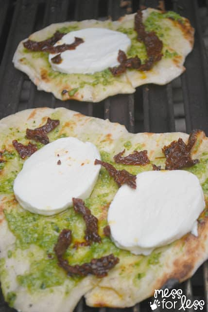 how to make grilled flatbread #ad