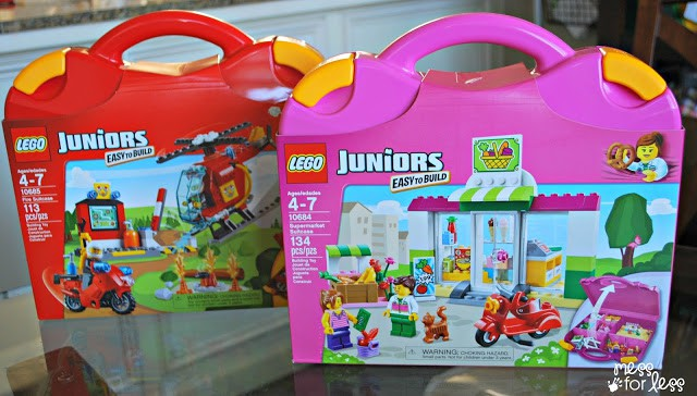 LEGO Juniors #LEGOSummer #CleverGirls #sponsored