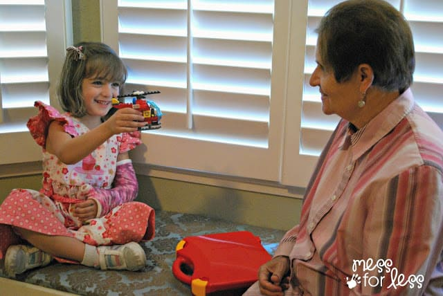 playing with LEGO with Grandma #LEGOSummer #CleverGirls #sponsored