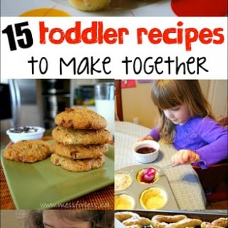15 Toddler Recipes to Make Together – Food Fun Friday