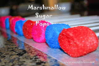 toddler recipes Marshmallow sugar pops