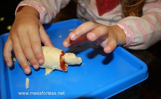 toddler recipes pepperoni pizza crescents